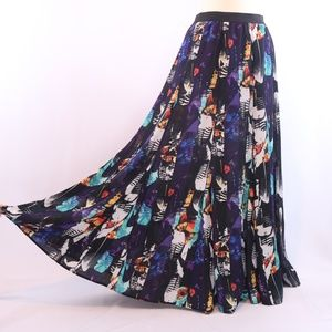 BB Dakota Calista Printed Maxi skirt